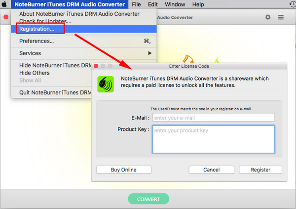 NoteBurner iTunes DRM Audio Converter 3.1.7 Crack Free