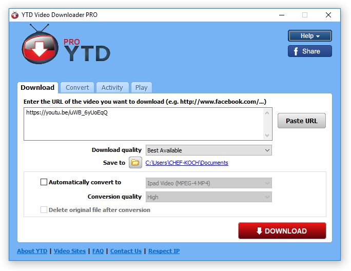 YTD Video Downloader Pro 5.9.18.9 Crack With Serial Key 2021 Latest